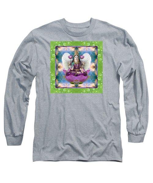 Padma Lotus Long Sleeve T-Shirt
