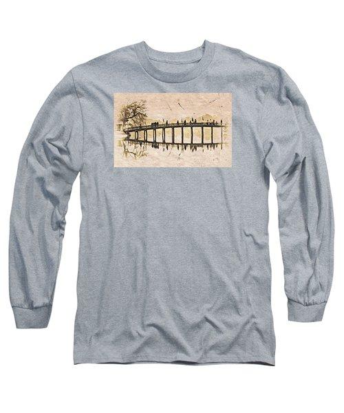 Pagoda Bridge Long Sleeve T-Shirt