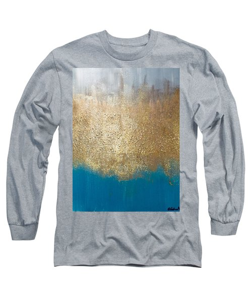 Paint The Sky Gold Long Sleeve T-Shirt