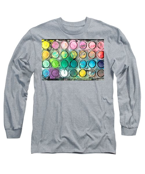Paint Tray Long Sleeve T-Shirt