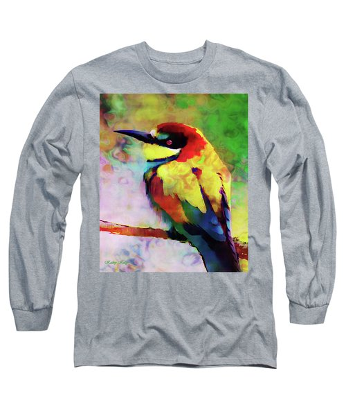Painted Bee Eater Long Sleeve T-Shirt