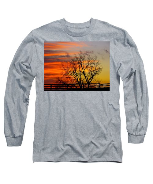 Painted By The Sun Long Sleeve T-Shirt