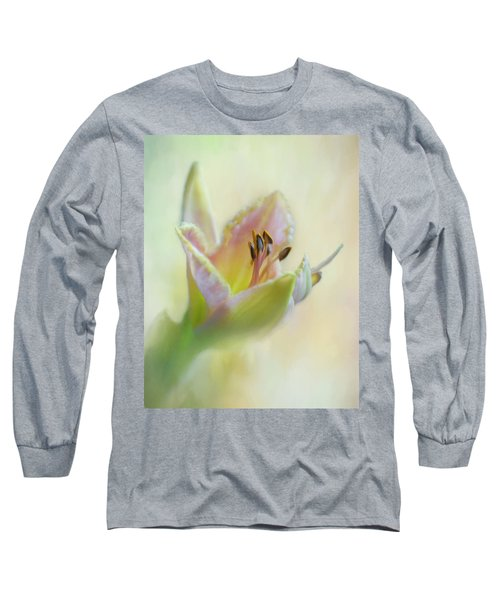 Painted Daylily Long Sleeve T-Shirt