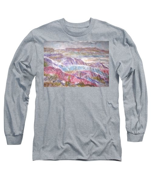 Painted Desert Long Sleeve T-Shirt by Ellen Levinson