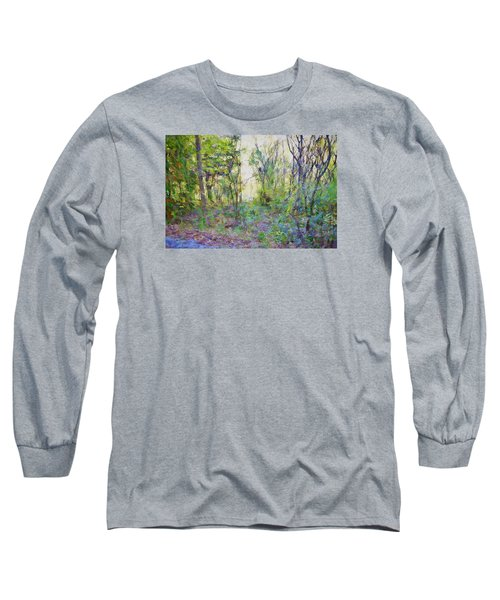Painted Forrest Long Sleeve T-Shirt by Rena Trepanier