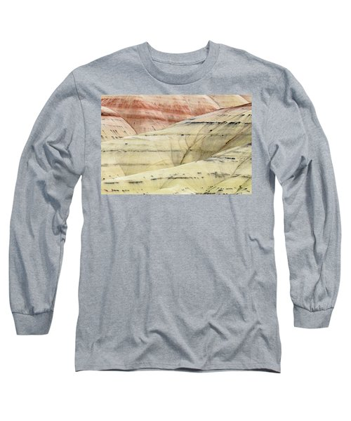 Long Sleeve T-Shirt featuring the photograph Painted Hills Ridge by Greg Nyquist
