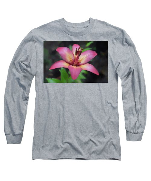 Painted Lily Long Sleeve T-Shirt
