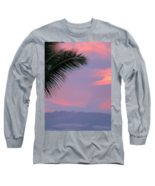 Long Sleeve T-Shirt featuring the photograph Painted Sky by Debbie Karnes
