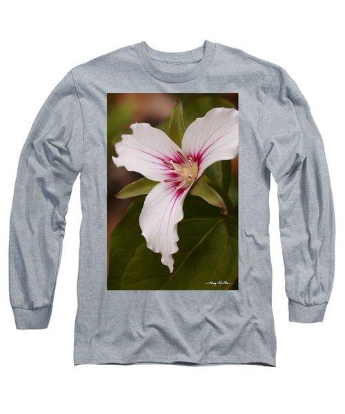 Painted Trillium II Long Sleeve T-Shirt