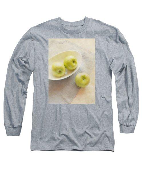 Painterly Apples Long Sleeve T-Shirt