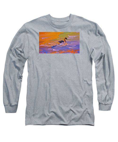Painterly Escape Long Sleeve T-Shirt