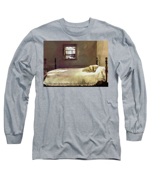 Painting Of The Print, Master Bedroom Long Sleeve T-Shirt