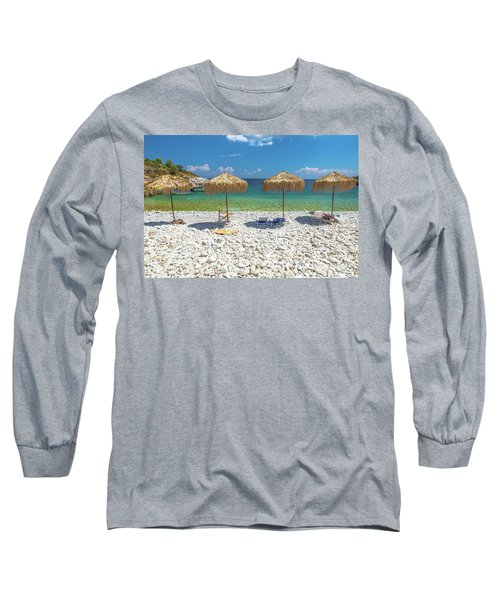 Palapa Umbrellas Long Sleeve T-Shirt