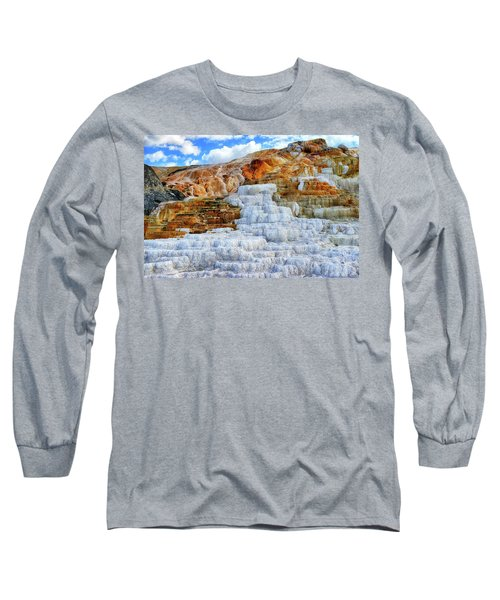 Palette Steps Long Sleeve T-Shirt by Greg Norrell