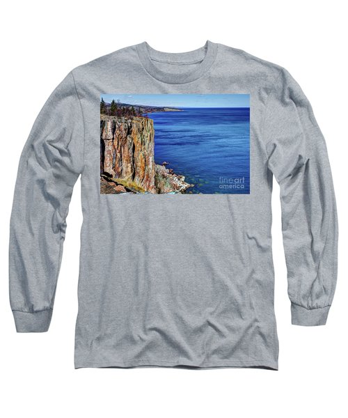 Palisade Head Tettegouche State Park North Shore Lake Superior Mn Long Sleeve T-Shirt