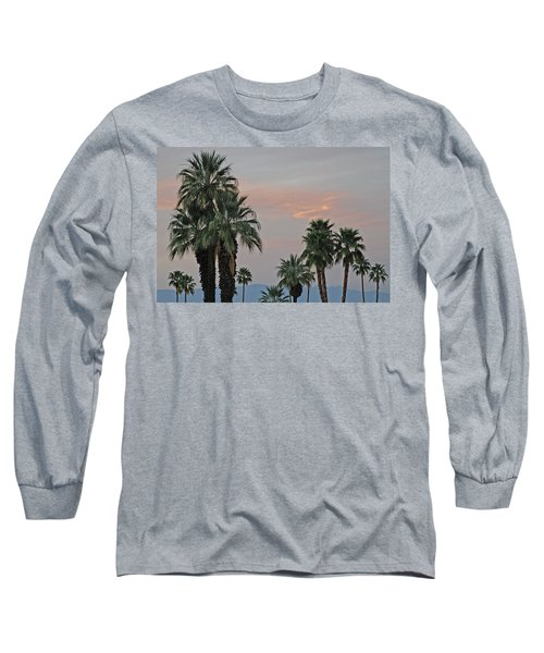 Palm Desert Sunset  Long Sleeve T-Shirt