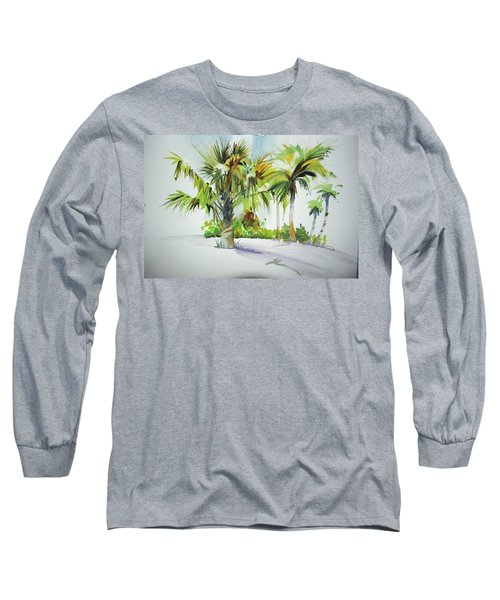 Palm Sunday Long Sleeve T-Shirt by P Anthony Visco