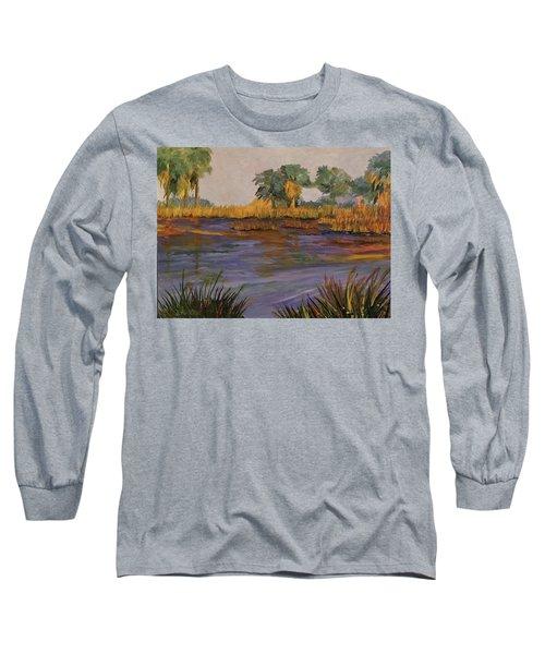 Palm Tree Hideaway  Long Sleeve T-Shirt