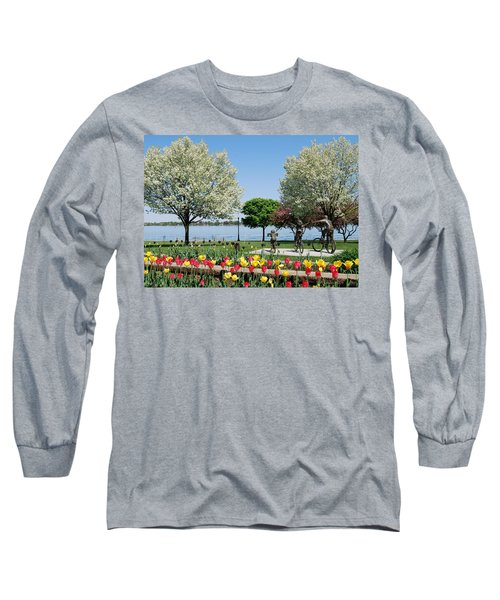 Palmer Park In Spring Long Sleeve T-Shirt