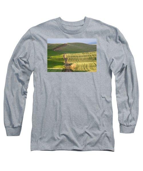Palouse Backroads Long Sleeve T-Shirt