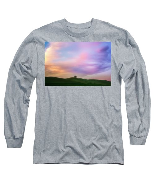 Palouse Cirrus Rainbow Long Sleeve T-Shirt