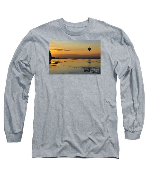 Pammukale Sunset Long Sleeve T-Shirt by Yuri Santin