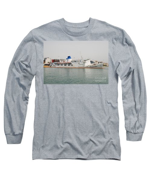 Panagia Tinou Ferry Sinking In Athens Long Sleeve T-Shirt