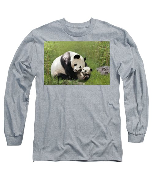 Panda Bears Long Sleeve T-Shirt