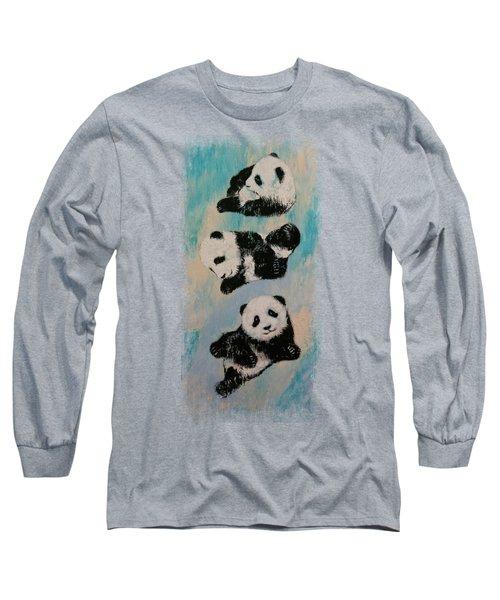 Panda Karate Long Sleeve T-Shirt