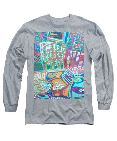 Panel Of Hand Painted Mondeo Long Sleeve T-Shirt