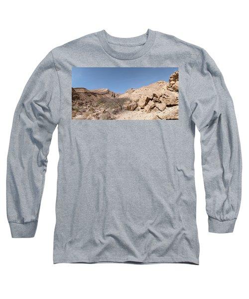 Panorama On Genesis Land 03 Long Sleeve T-Shirt