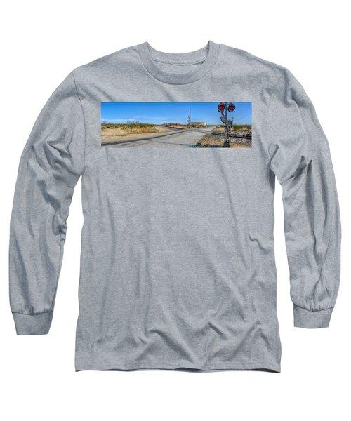 Panoramic Railway Signal Long Sleeve T-Shirt