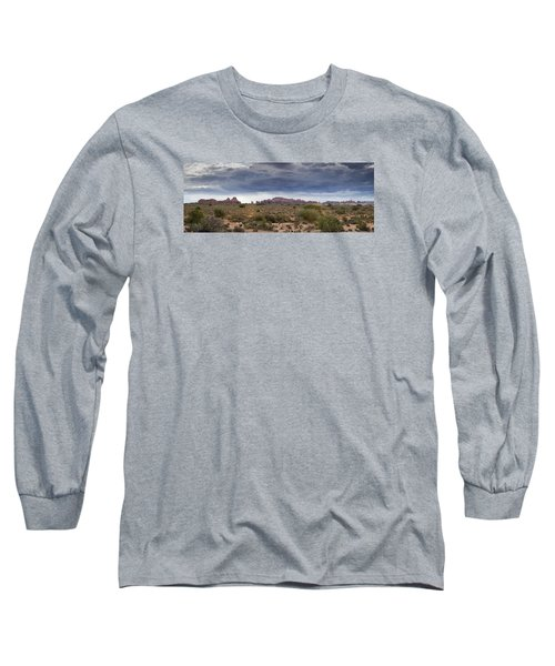 Panoramic View At Arches National Park Long Sleeve T-Shirt