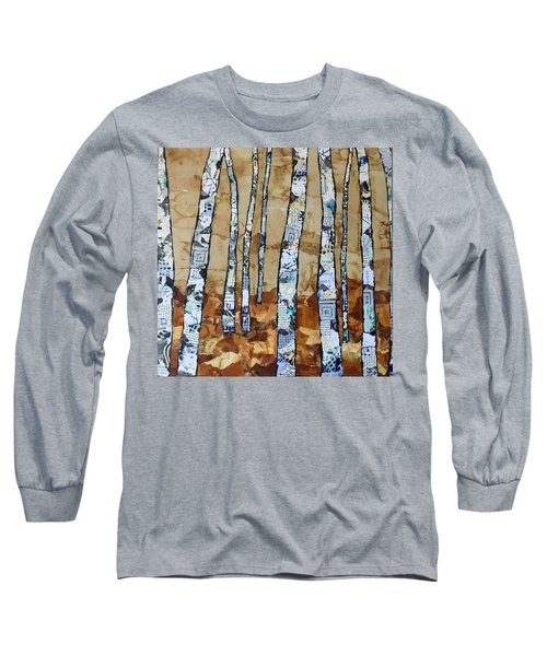 Paper Birch 3 Long Sleeve T-Shirt