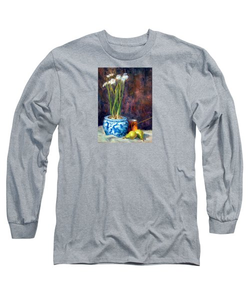 Paper Whites And Pears Long Sleeve T-Shirt
