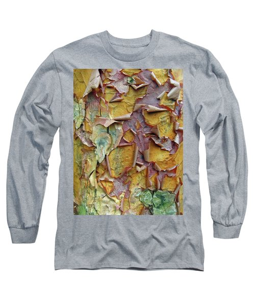 Paperbark Maple Tree Long Sleeve T-Shirt