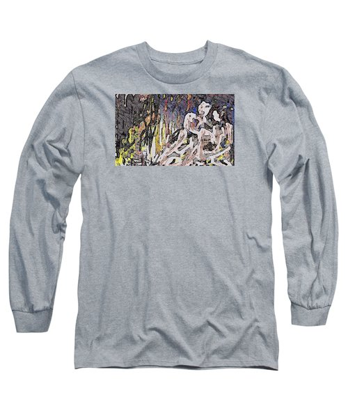 Paradise Can Be Copy And Pasted Long Sleeve T-Shirt