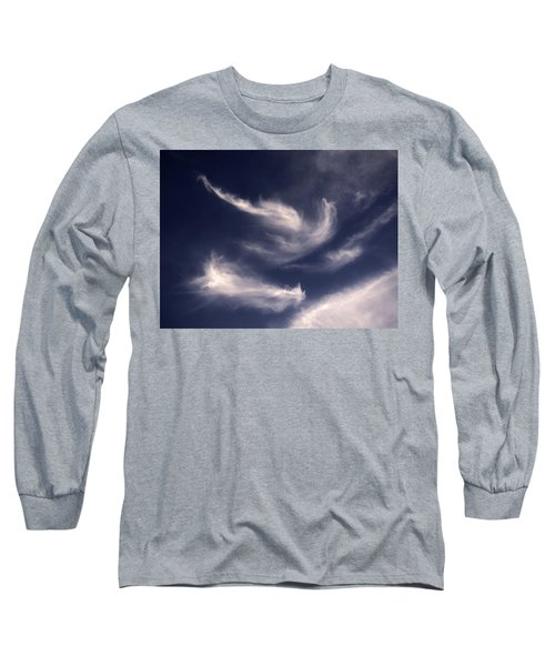 Long Sleeve T-Shirt featuring the photograph Pareidolia by Robert Geary