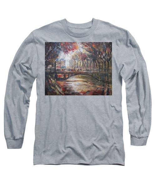 Paris - 6 O' Clock In The Morning Long Sleeve T-Shirt
