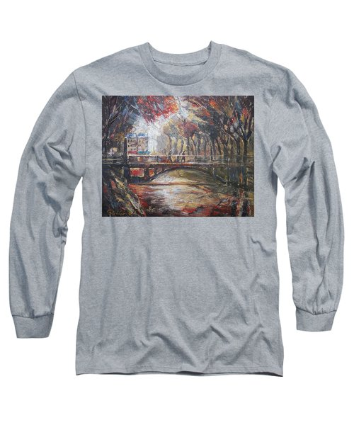 Paris - 6 O' Clock In The Morning Long Sleeve T-Shirt