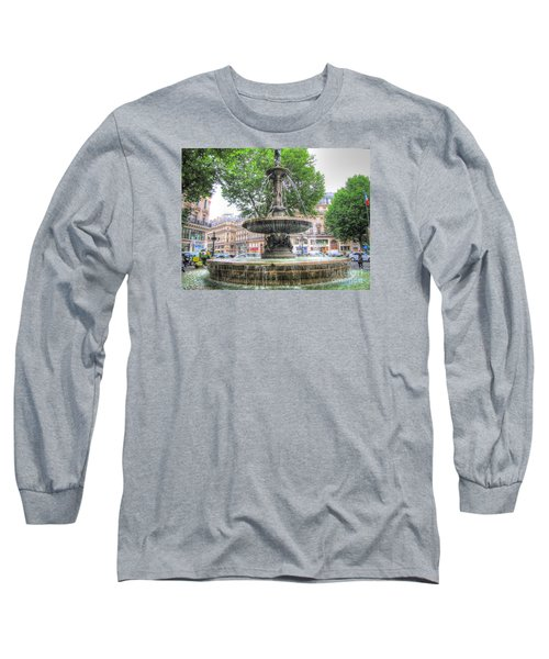 Paris Fontane Long Sleeve T-Shirt