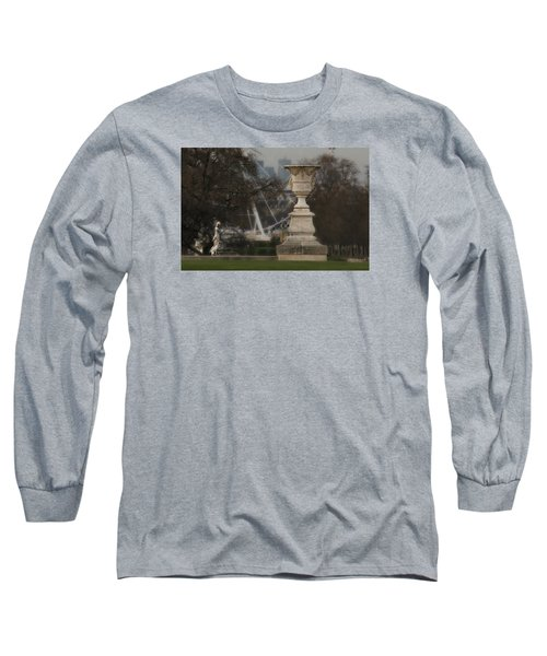 Long Sleeve T-Shirt featuring the photograph Paris Park by Katie Wing Vigil