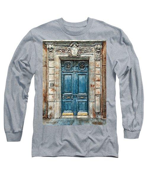 Parisian Door No. 3 Long Sleeve T-Shirt