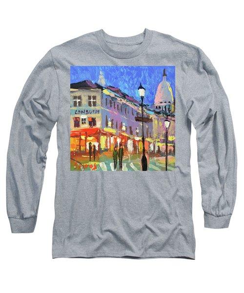 Parisian Street Long Sleeve T-Shirt
