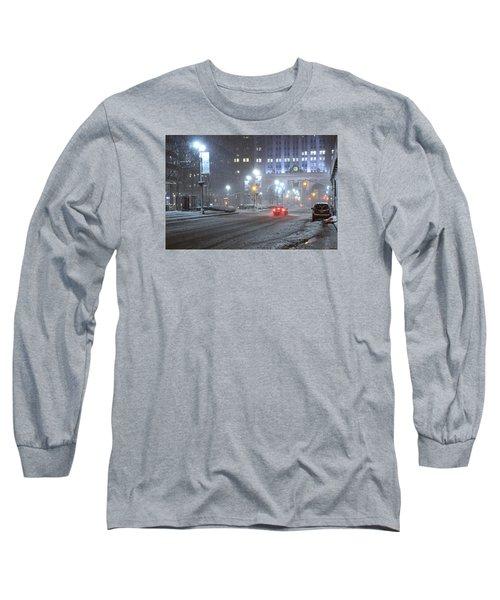 Park Avenue Manhattan New York Near The Helmsley Building Long Sleeve T-Shirt