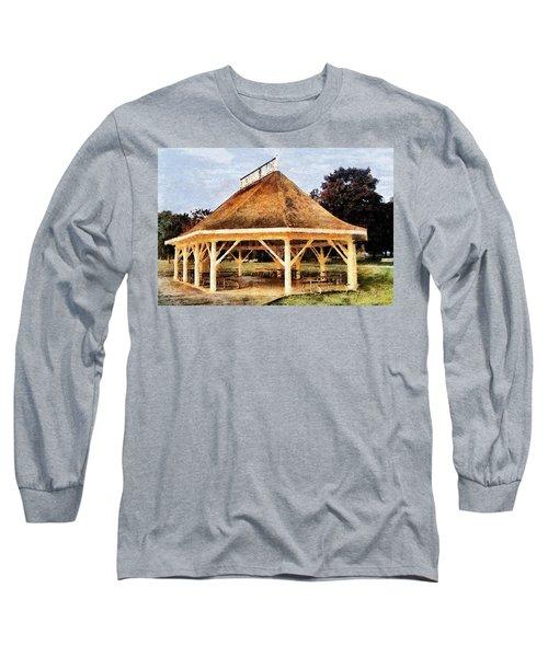 Park Gazebo Long Sleeve T-Shirt