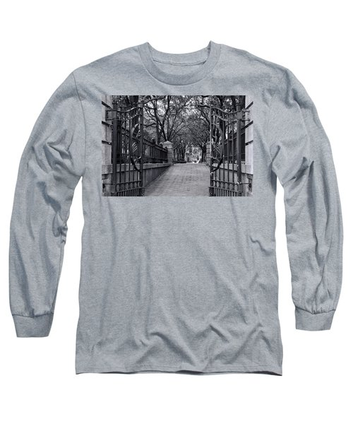 Park Place Long Sleeve T-Shirt by Ed Waldrop