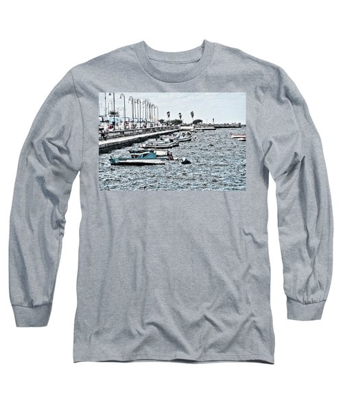 Parked And Waiting Long Sleeve T-Shirt