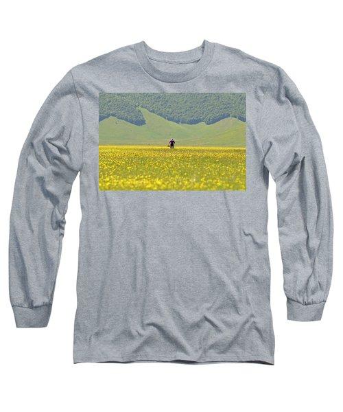 Parko Nazionale Dei Monti Sibillini, Italy 1 Long Sleeve T-Shirt