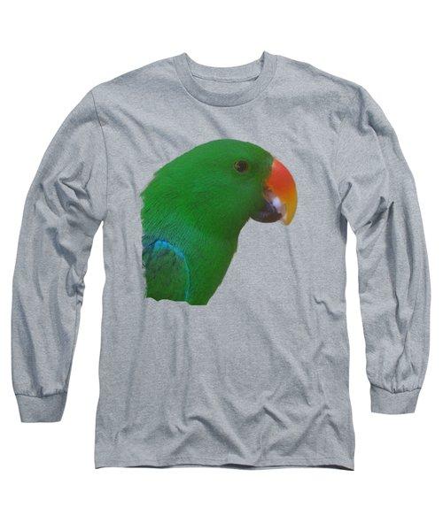Parrot Head Long Sleeve T-Shirt